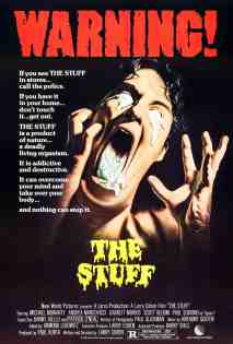 The Stuff 1985 poster