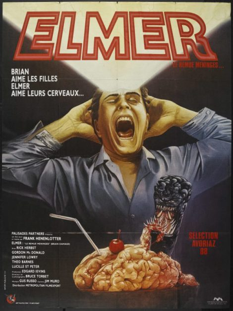 Brain Damage French Poster
