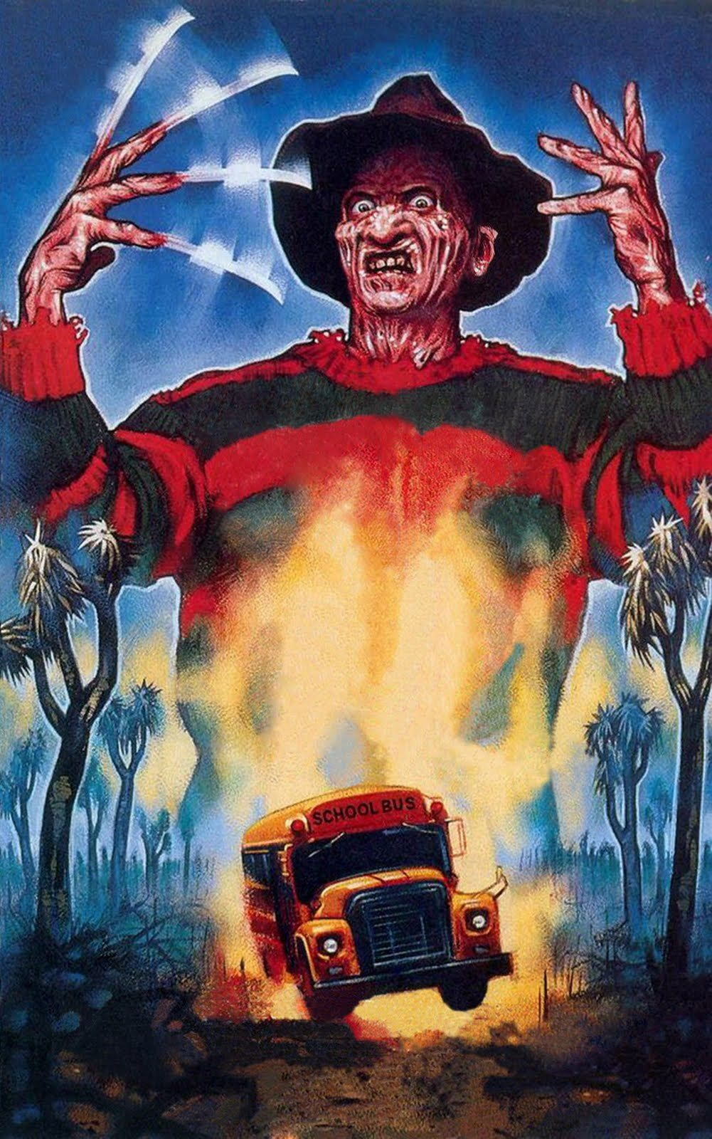 Freddy's Revenge original artwork