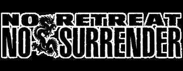 No Retreat No Surrender logo