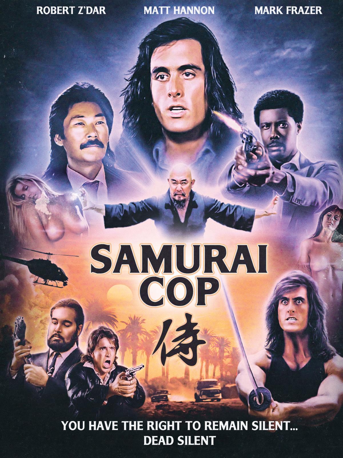Samurai Cop poster
