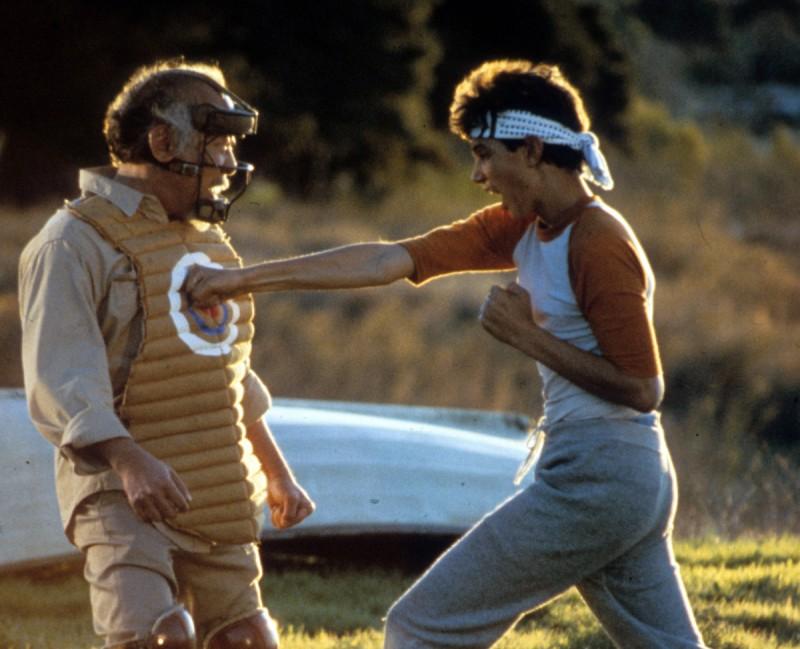 The Karate Kid Miyagi and Daniel