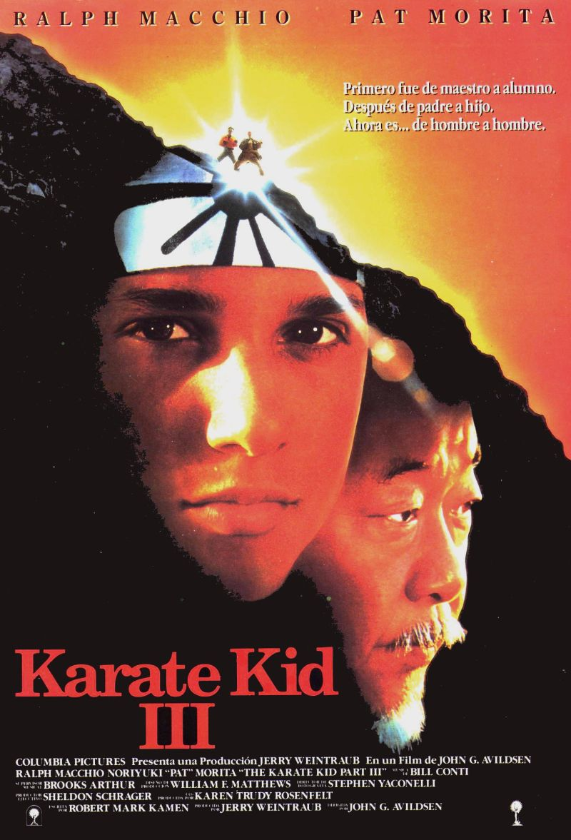 The Karate Kid Part III poster