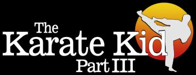 The Karate Kid Part III logo