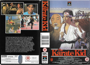 The Karate Kid VHS