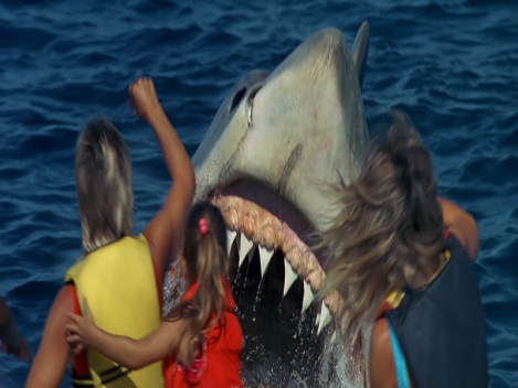 Jaws: The Revenge Banana Boat