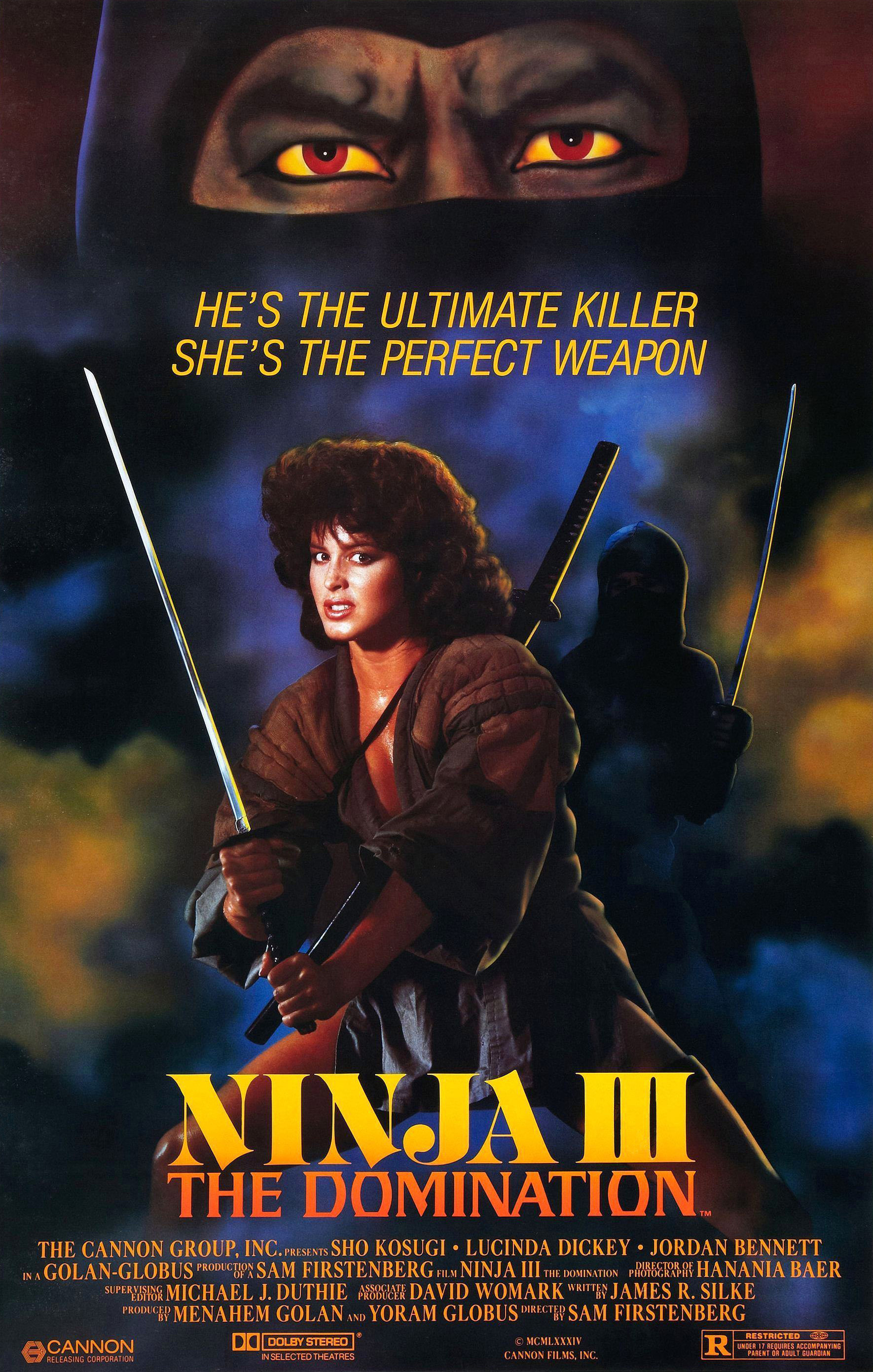 Ninja III poster
