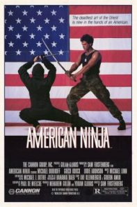 american ninja 1985 poster
