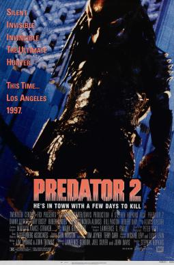 Predator 2 poster