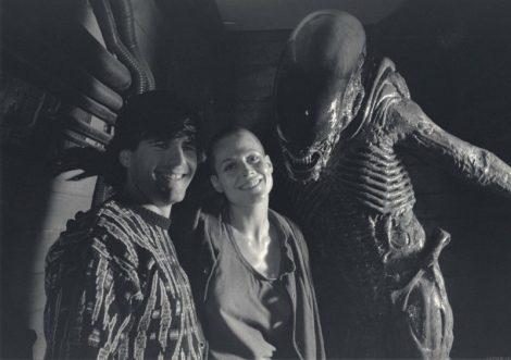 Alien Behind the Scenes