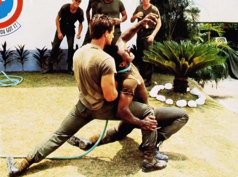 American Ninja fight