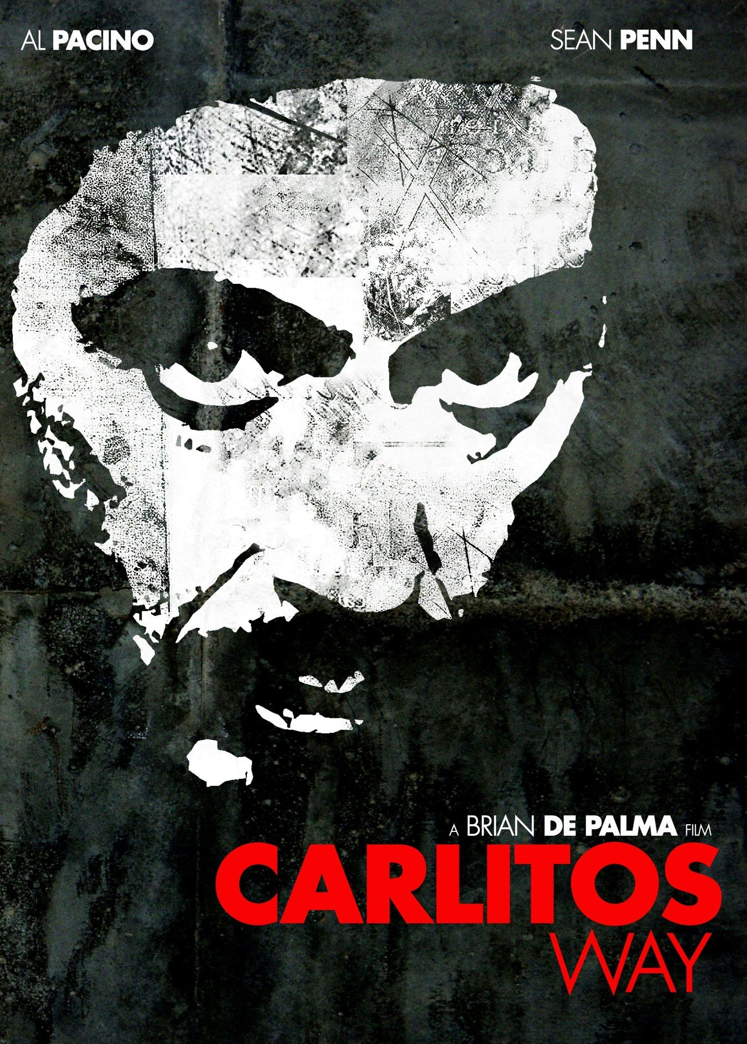 Carlito's Way alternate poster