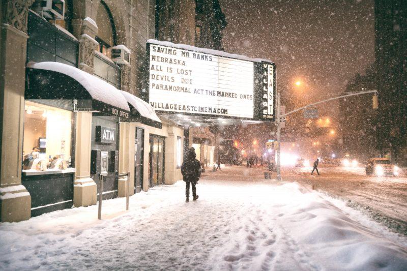 Snowy Cinema