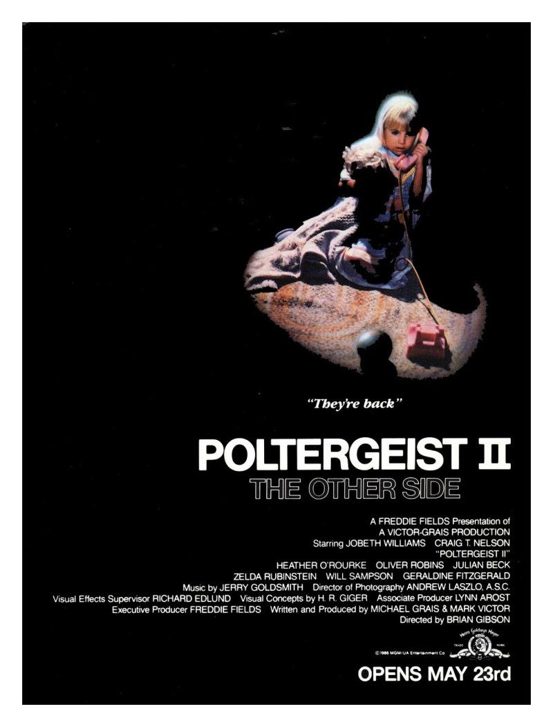 poltergeist ii poster