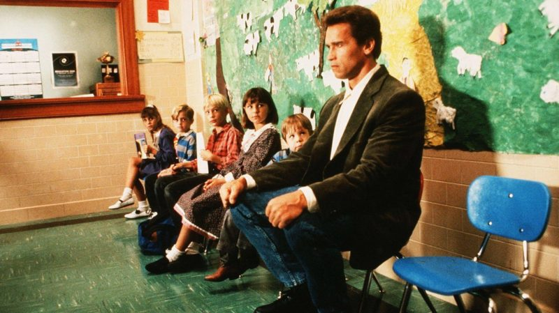 Arnie's Top Ten Movie Puns Kindergarten Cop