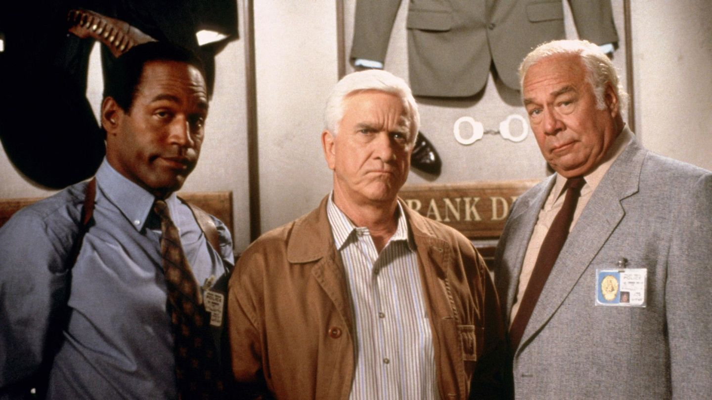 The Naked Gun cops