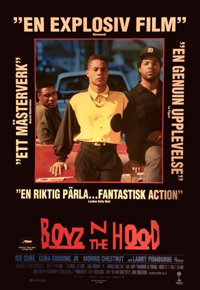 Boyz n the Hood Norweigan poster
