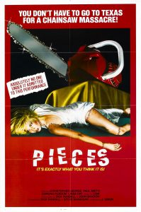 Pieces 1982 Poster