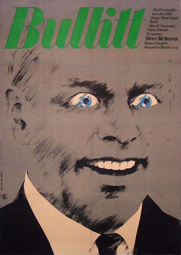 Bullitt German poster