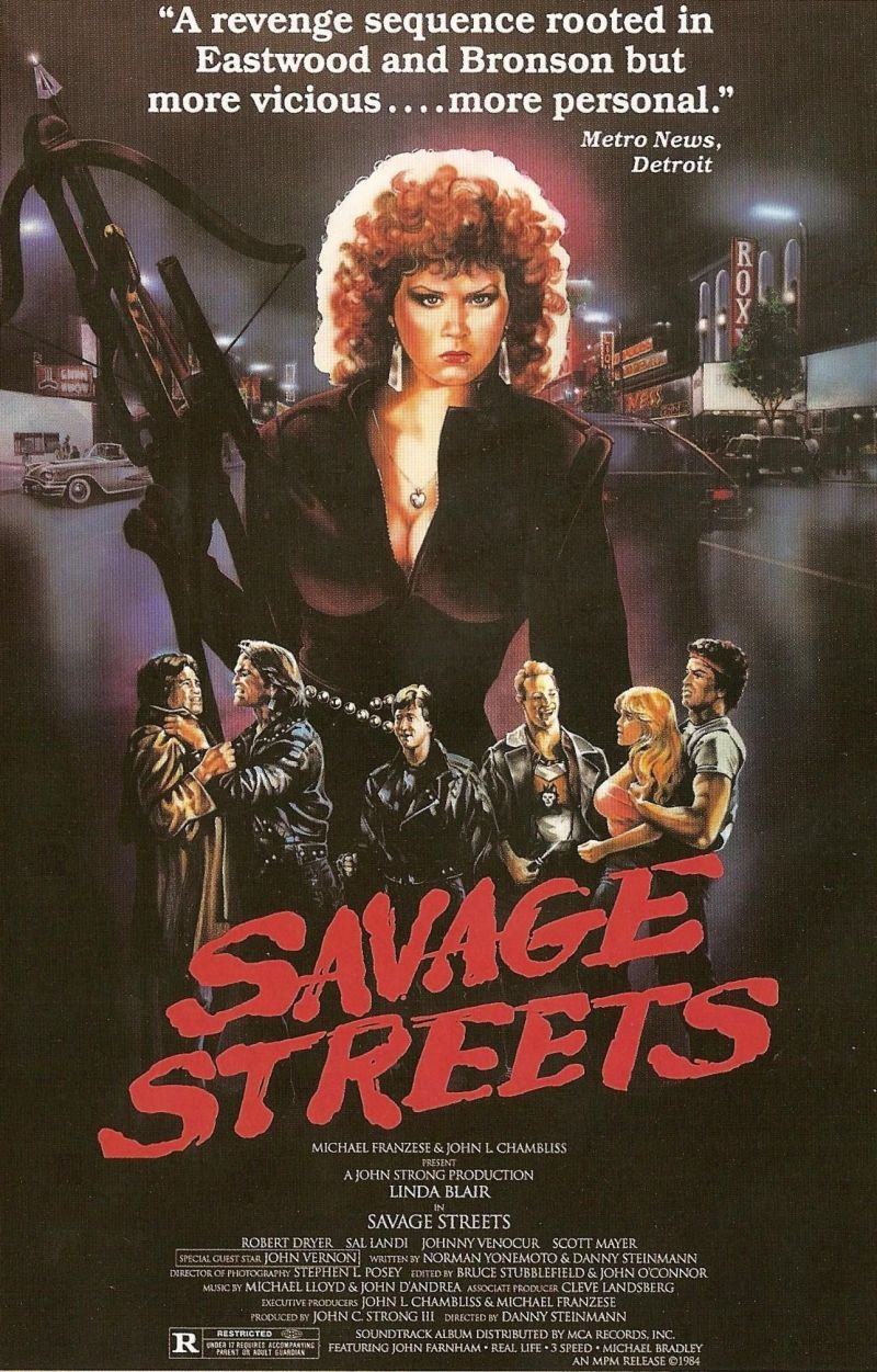 Savage Streets poster