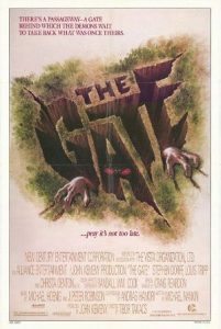 The gate 1987 poster