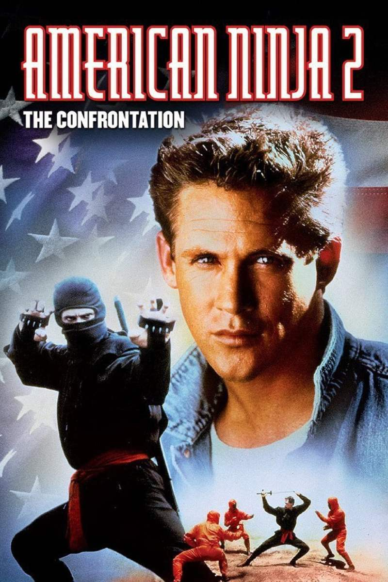 American Ninja 2 The Confrontation poster