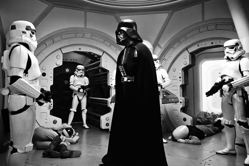 Darth and Stormtroopers