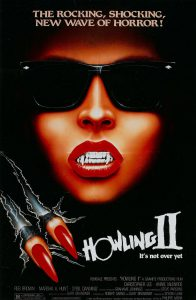 Howling II poster