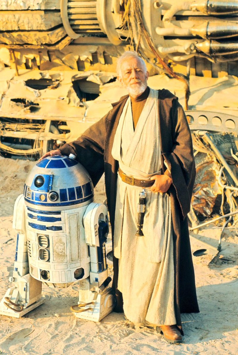 Star Wars R2D2 and Ben