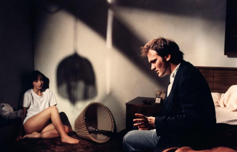 Tarantino On Set