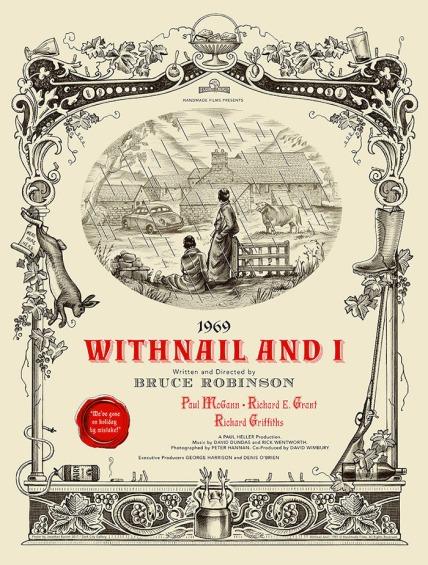 Withnail and I poster Jonathan Burton