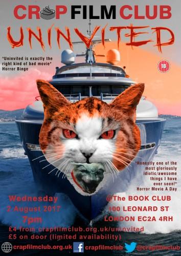 Crap Film Club Poster