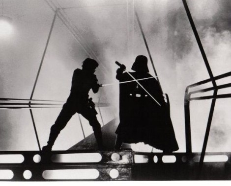 Empire Strikes Back Luke vs Darth