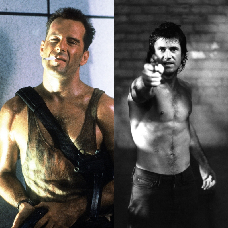 Character Battle Riggs McClane