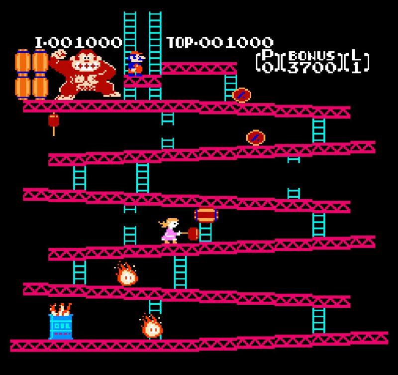 Mario Donkey Kong