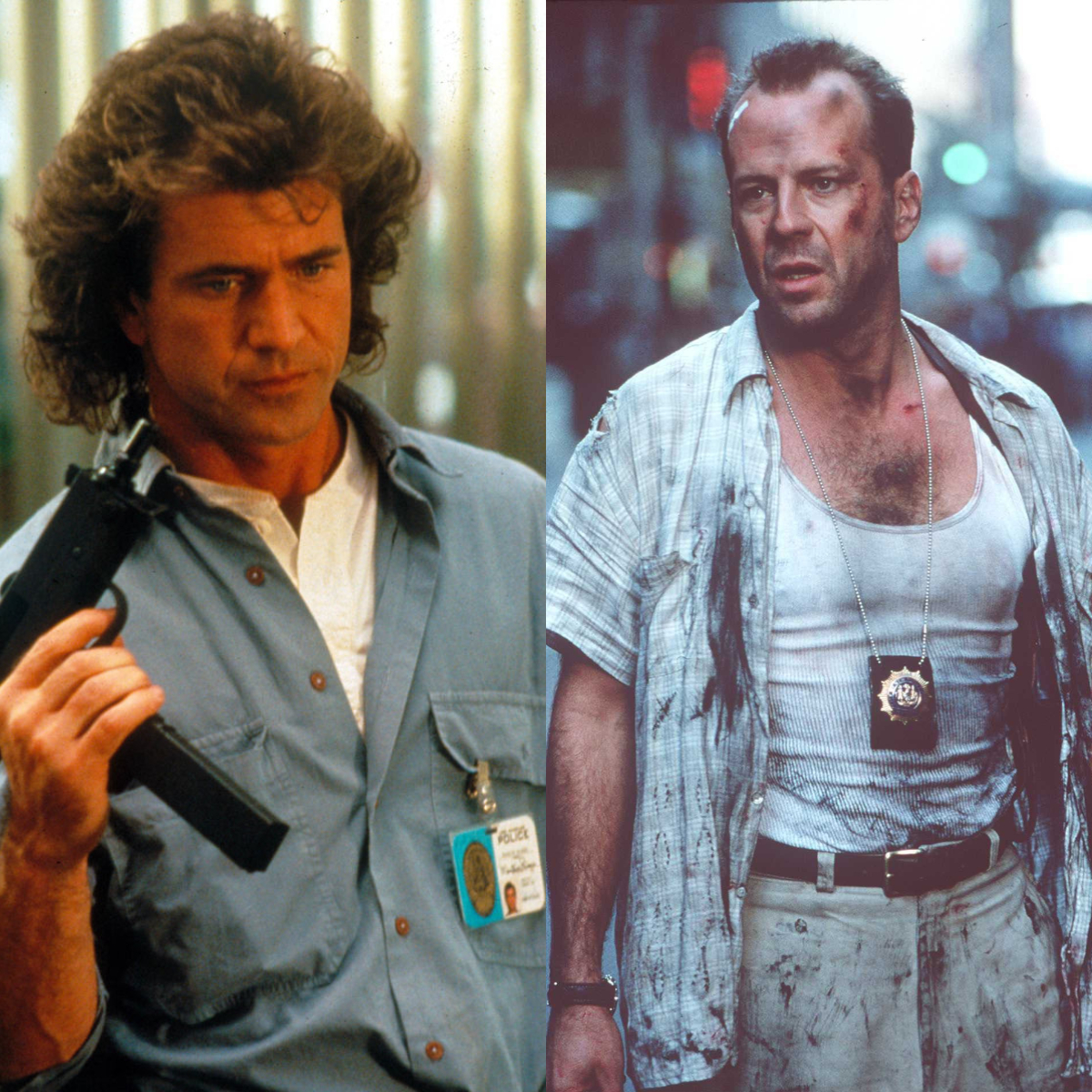 Riggs and McClane Character Battles