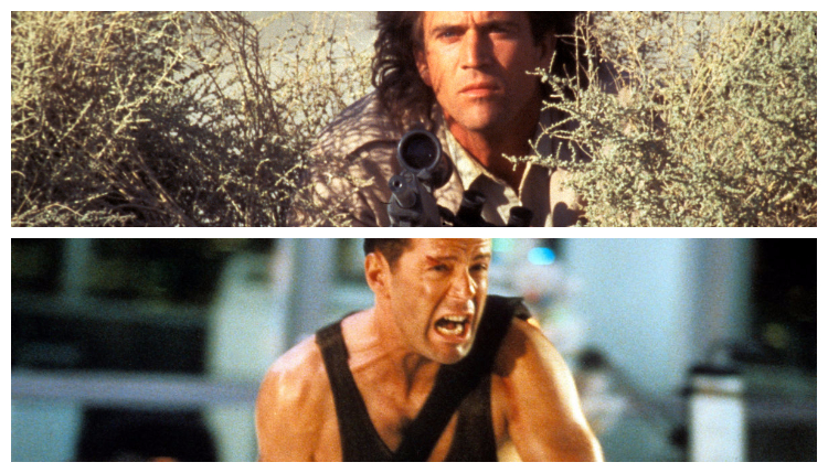 Riggs and McClane Collage