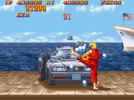 Street Fighter II Car