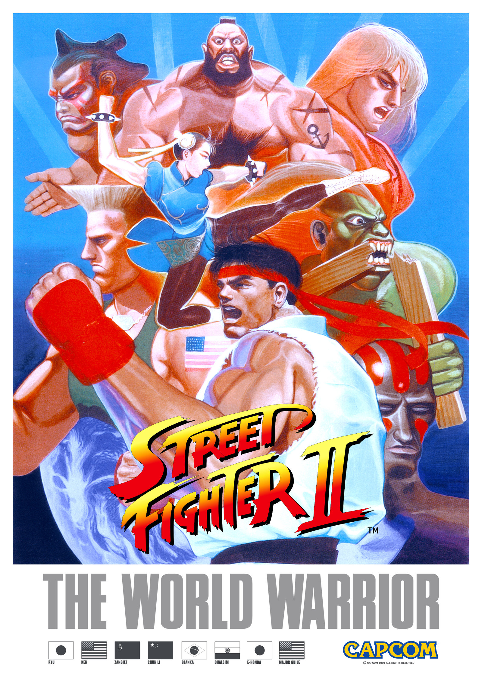 Street Fighter II: The World Warrior (Arcade) – VHS Revival