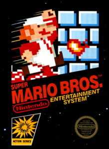 Super Mario Bros Cover US