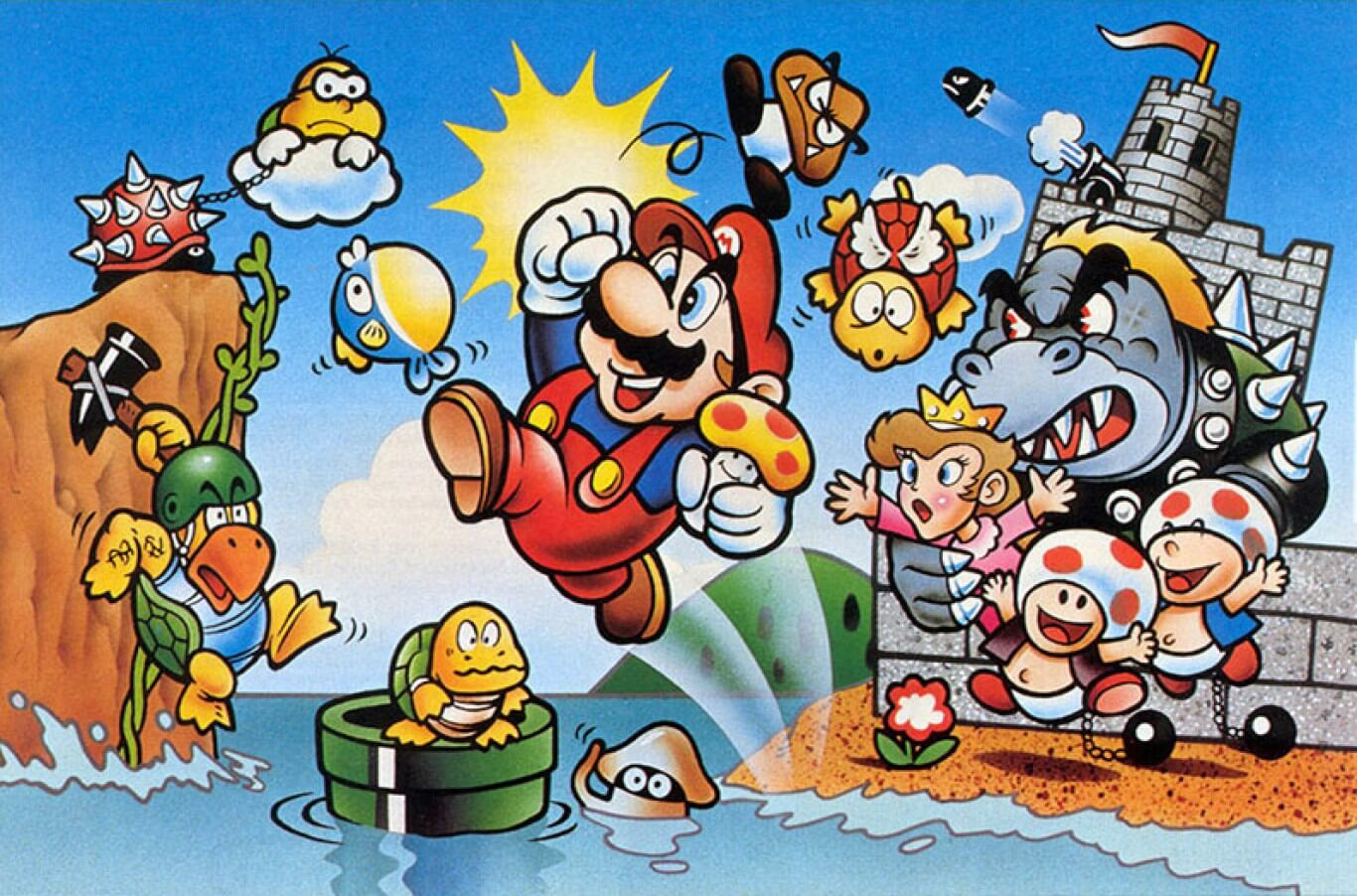 Super Mario Bros. featured