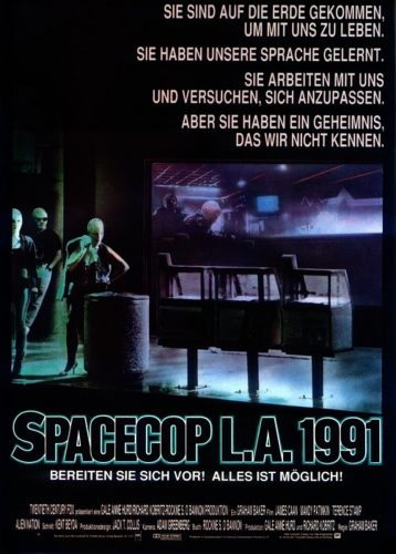 Alien Nation German Poster