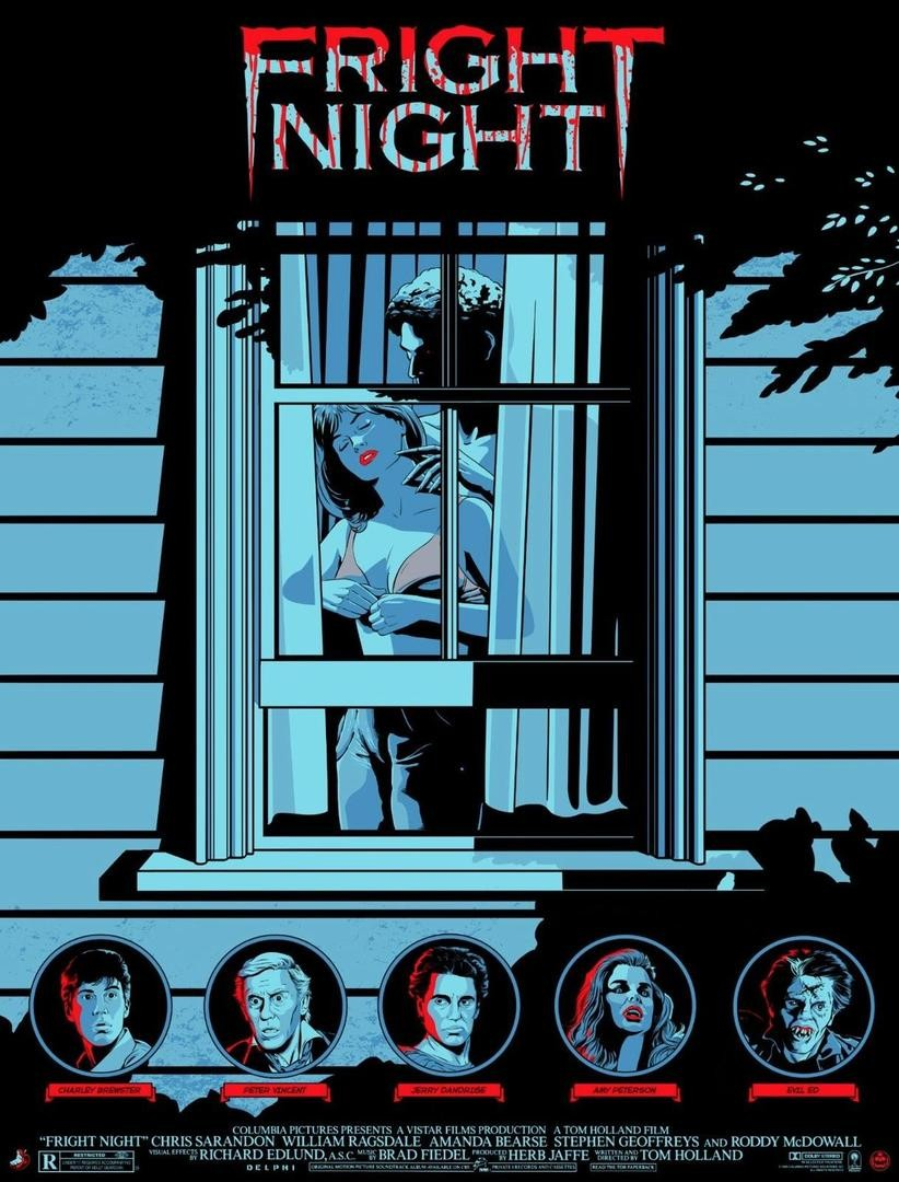 Fright Night poster Matthew Skiff