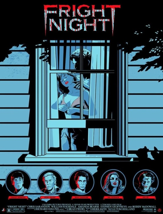 Fright Night poster Matthew Skiff
