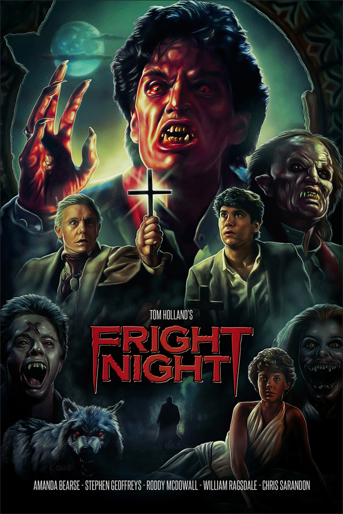 Fright Night poster Ralf Krause