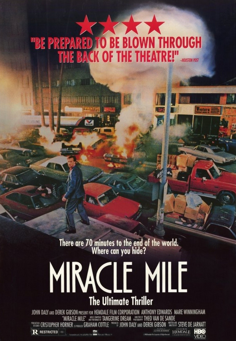 Miracle Mile poster