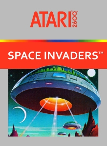 Space Invaders Silver Cover 1