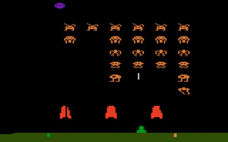 Space Invaders Atari 2