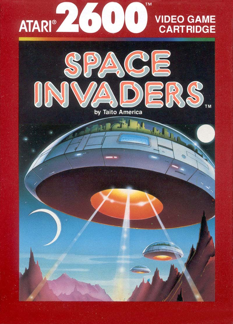 Space Invaders Atari cover