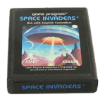 Space Invaders Black Label Cartridge